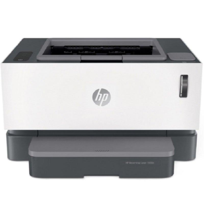 Impressora Multifuncional HP Laser Neverstop 1000N Monocromática Branco 110V