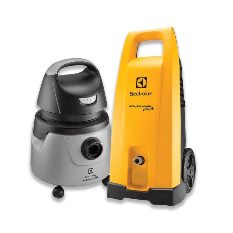 Kit Electrolux Lavadora Power Wash Plus EWS31+ Aspirador de Pó e Água 1250W Smart A10N1 127V