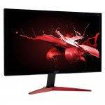 Monitor Acer Gamer 23,6 KG241QS Full HD 165Hz Inclinação Ajustável Preto e Vermelho