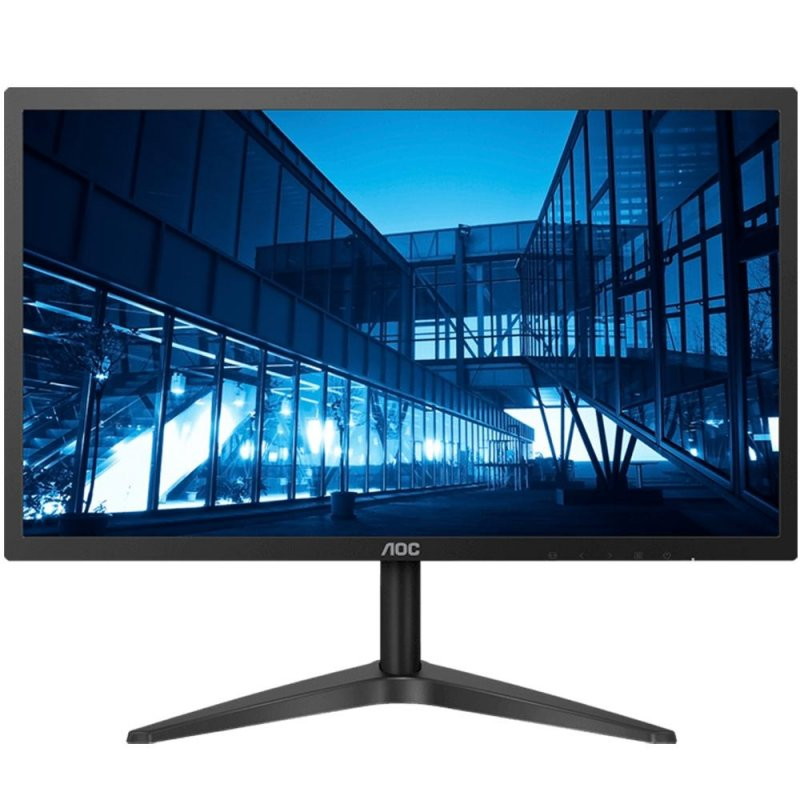 Monitor LED AOC 21,5 22B1H Widescreen Full HD Slim HDMI Preto