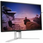 Monitor Gamer AOC Agon 24,5 Widescreen Tela Curva AG251FG 240Hz NVIDIA G-Sync Preto