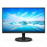 Monitor LED Philips 23,8 Full HD 242V8A IPS HDMI Bordas Ultrafinas Preto