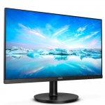 Monitor LED Philips 23,8 Full HD 242V8A IPS HDMI Bordas Ultrafinas Preto