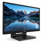 Monitor Philips 23,8 Full HDTouch LED 242B9T 75Hz VGA DVI HDMI Preto
