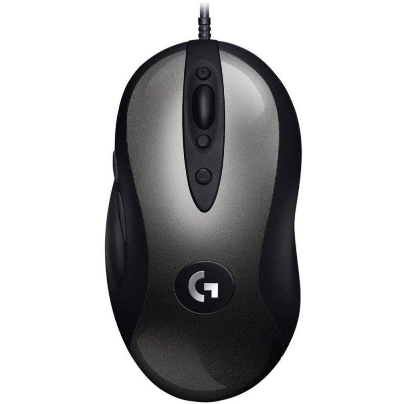 Mouse Gamer Logitech MX518 com Sensor Hero 16K Preto