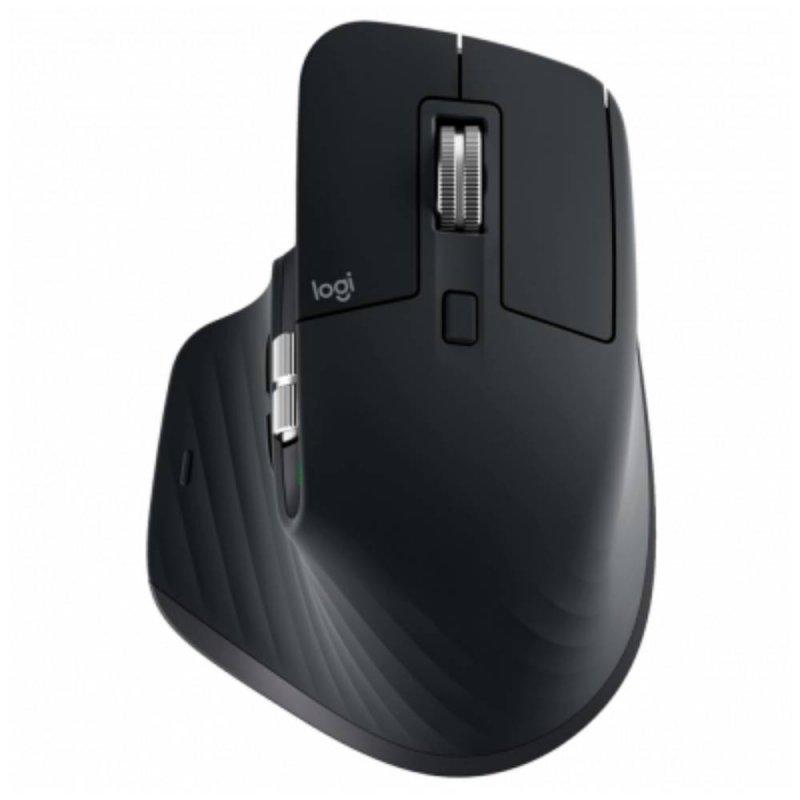 Mouse Logitech Max Master 3 Sem fio Preto