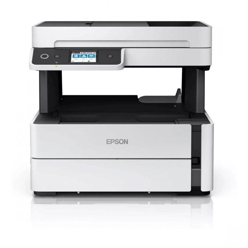 Impressora Multifuncional tanque de tinta Ecotank M3170 Epson Wifi Monocromática Bivolt