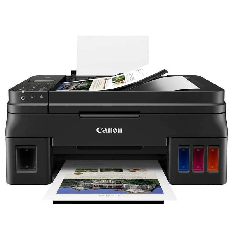 Impressora Multifuncional Canon G4111 Megatank Colorida Wi-fi Bivolt Preta