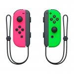Controle para Nintendo Switch Joy Con Rosa e Verde