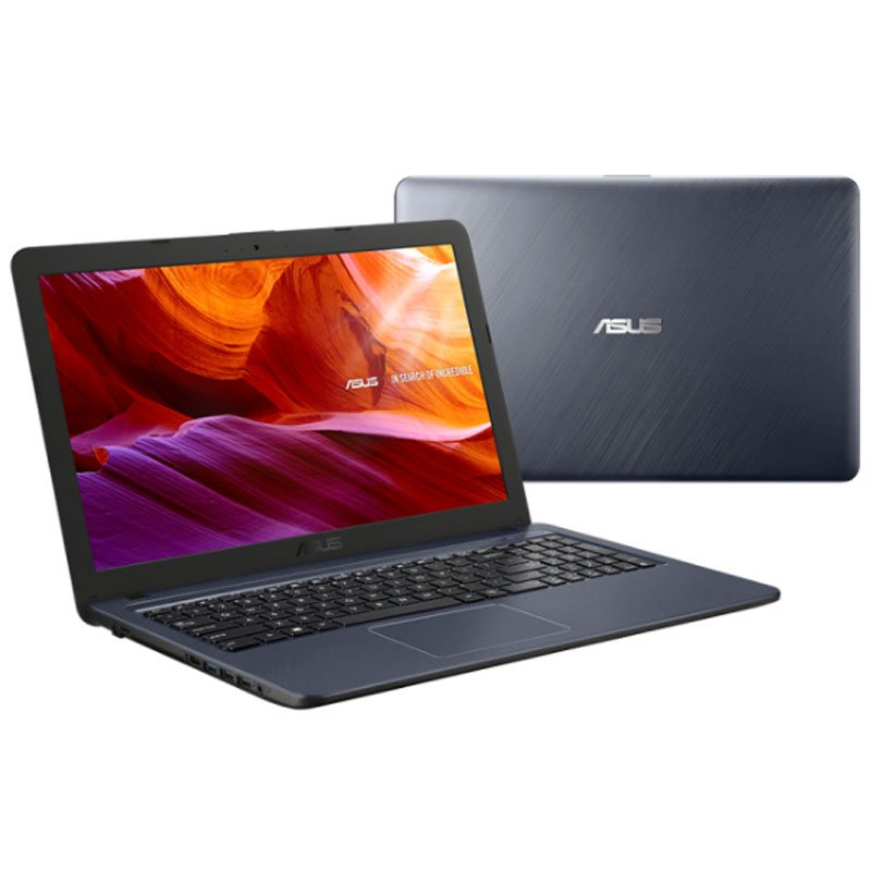 Notebook Asus 15.6 Celeron Dual Core 4 GB 500GB Windows 10 Home X543NA-GQ342T Cinza Escuro