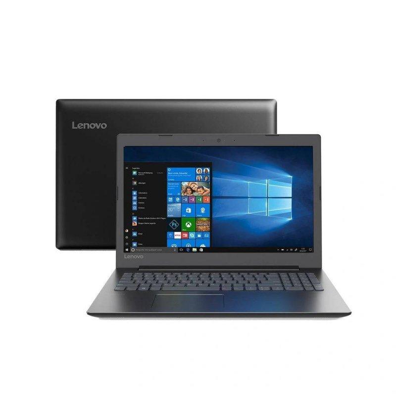 Notebook Lenovo 15,6 Led Full HD B330 i5-8250U Core i5 4GB Ram 1TB Memória Windows 10 Preto