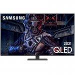Samsung Smart TV 55 QLED 4K 55Q80A, Modo Game, Processador IA, Som em Movimento, Tela sem limites,