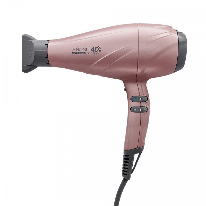 Secador Gama Italy Sensi 4D Therapy Profissional Bivolt Rosê 2500w