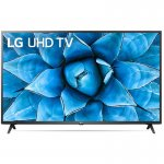 Smart TV LG 50 50UN7310 4K UHD WiFi Bluetooth Inteligência Artificial ThinQ AI Alexa Preta