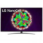 Smart TV LG 6565NO81S 4K IPS NanoCell Wi-Fi BT HDR Inteligência Artificial ThinQ AI Alexa Preta