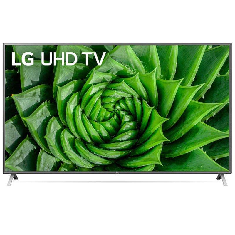 Smart TV LG 75 75UN8000 4K BT Inteligência Artificial ThinQ AI Magic Google Assistente Alexa Preta