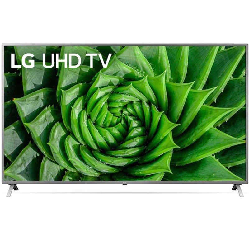 Smart TV LG 82 82UN8000 4K BT Inteligência Artificial ThinQ AI Magic Google Assistente Alexa Preta