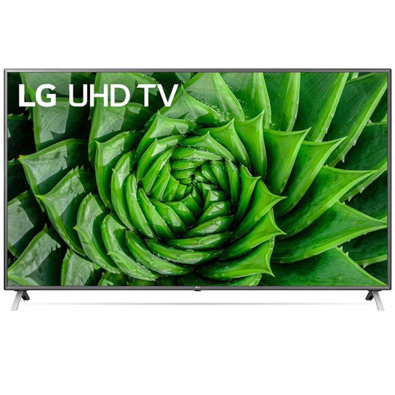Smart TV LG 86 86UN8000 4K UHD BT Inteligência HDR Artificial ThinQ AI Magic Alexa Preta