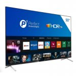 Smart TV Philips 50PUG762578 4K UHD P5 HDR10 Bluetooth Wi-Fi 3 HDMI 2 USB Borda Ultrafina Preta