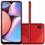 Smartphone Samsung Galaxy A10s 32GB 6,2 2GB RAM Câmera Traseira Dupla 13MP 2MP Vermelho Absurdo
