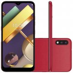 Smartphone LG K22 Plus Vermelho Tela 6.2, 4G Wi-Fi Android 10 Câm Traseira 13 2MP e Frontal 5MP 64GB