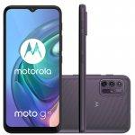 Smartphone Motorola MOTO G10 64GB Tela 6,5 Câmera 48 MP Cinza Aurora