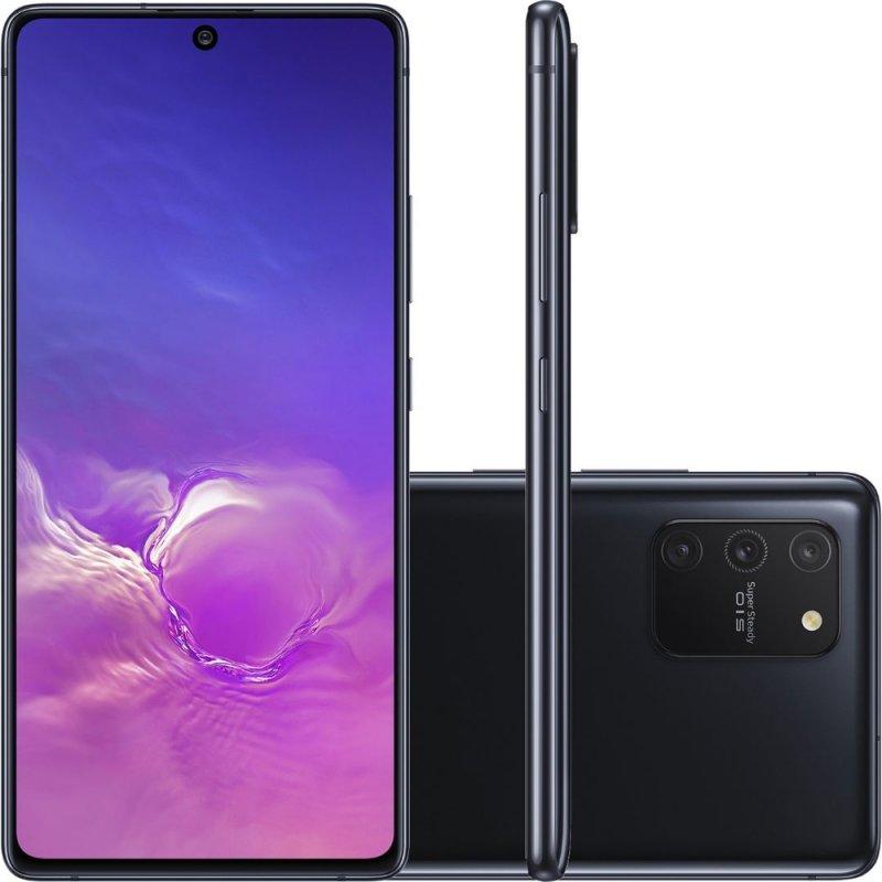 Smartphone Samsung Galaxy S10 Lite Tela 6,7 Dual Chip Octa Core Ram 6GB 128GB Câmera 48MP Preto