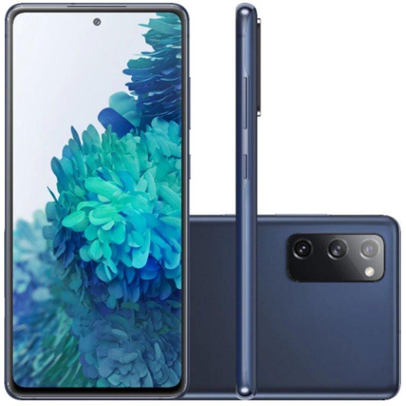Smartphone Samsung Galaxy S20 Fe 128GB 4G Tela 6.5 Dual Chip 6GB RAM Câmera Tripla Cloud Navy