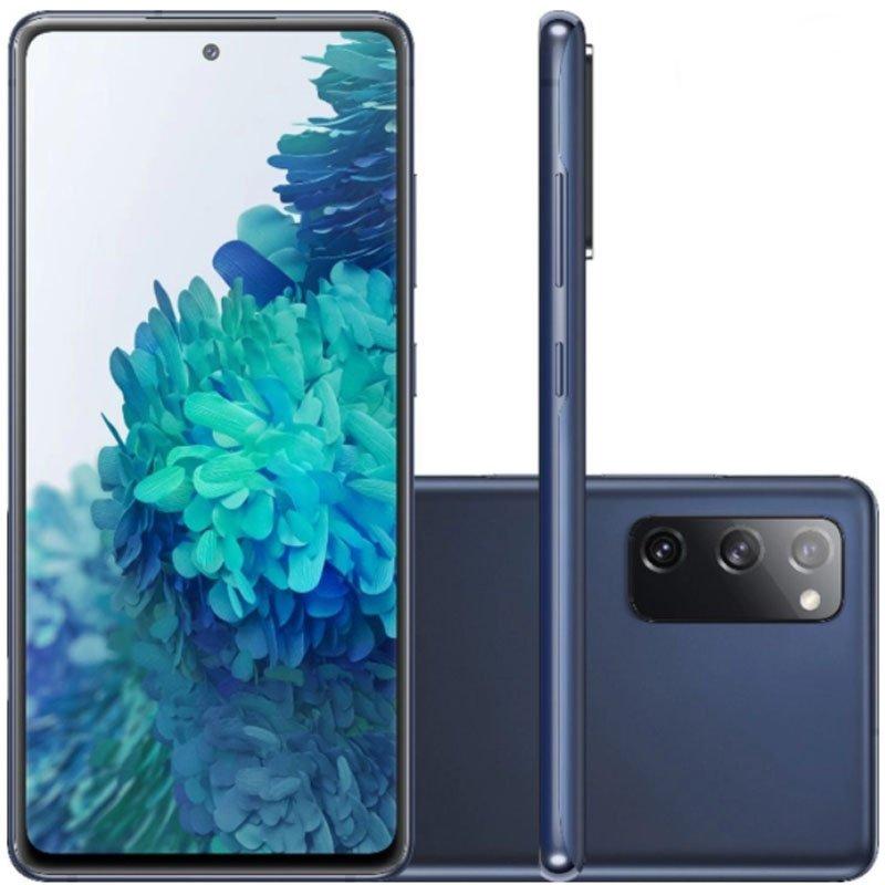 Smartphone Samsung Galaxy S20 Fe 256GB Snapdragon 4G Tela 6.5 Dual Chip 8GB RAM Cloud Navy