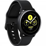Smartwatch Samsung Galaxy Watch Active Preto com Monitoramento Cardíaco Bluetooth