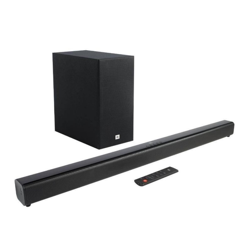 Soundbar JBL Cinema SB160 2.1 canais Potência 110W RMS com bluetooth Preto