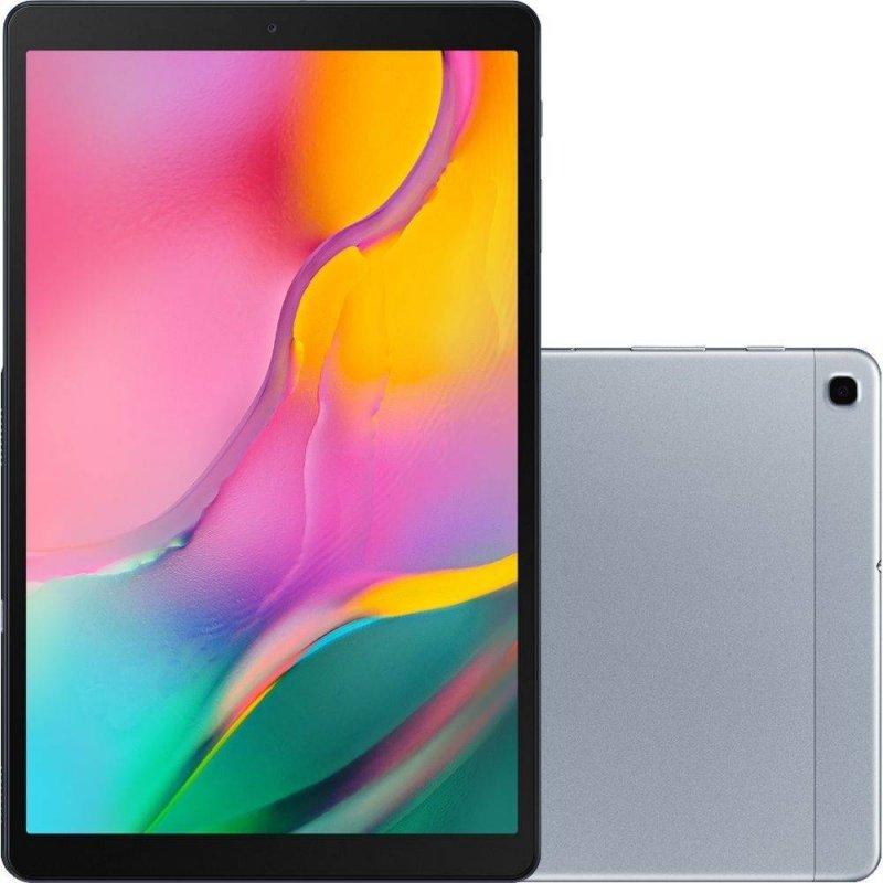 Tablet Samsung Galaxy TAB A 10.1 T510 Octa Core 2GB Ram 32GB Memória interna Câmera 8MP Wifi Prata
