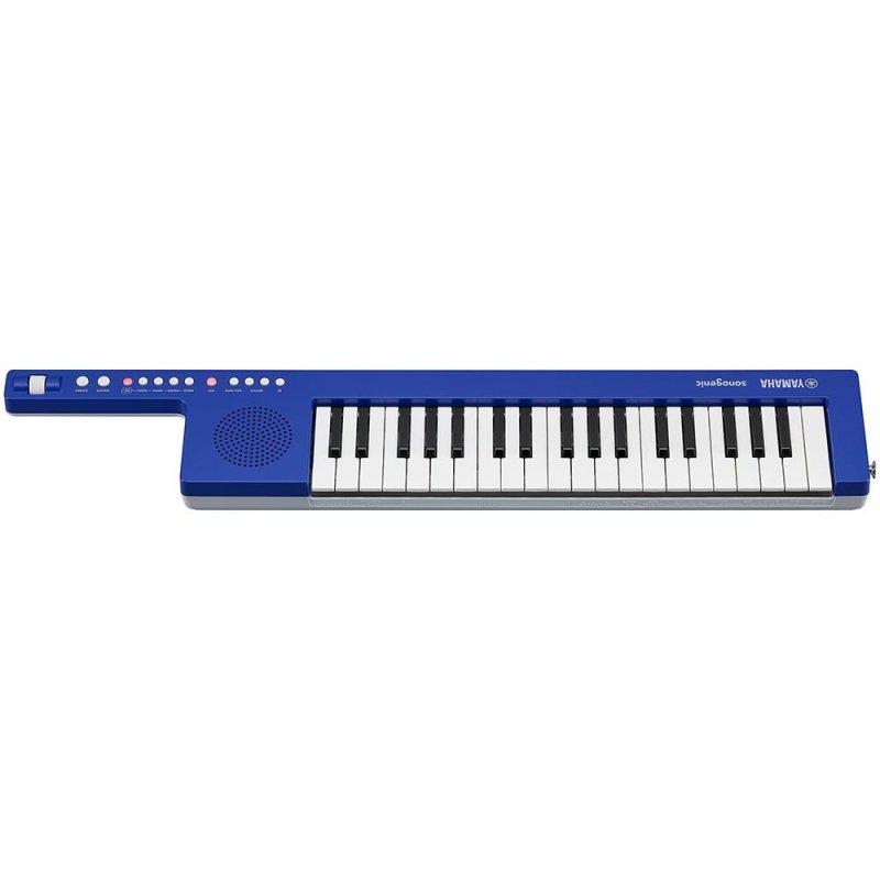 Teclado Eletrônico Leve e Portátil Keytar Yamaha com 37 Teclas SHS-300 Azul