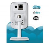 Câmera de Video IP Dlink / DCS - 930L / Wireless 802.11 1x 10 100mbps / Zoom 4x / Resid. Escrit