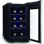 Adega de Vinhos Termoelétrica Midea Liva Preta 127V com Capacidade de 8 Garrafas