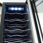 Adega Electrolux 12 Garrafas Com Acabamento Em Alumínio Escovado ACS12 220V