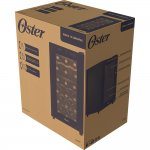 Adega Dual Zone Touch Control Oster 18 Garrafas Preta Oade180 Bivolt