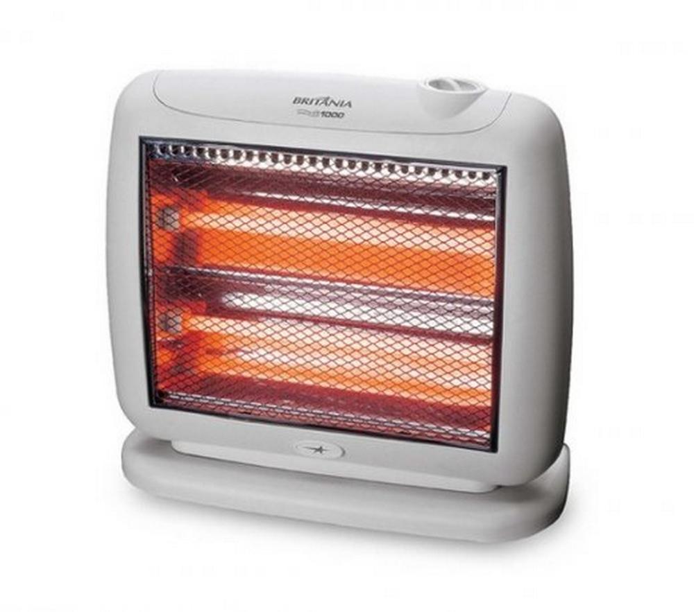 Aquecedor Britânia AB1000 / Branco / 110V / 1000W / 2 Opções de Temperatura