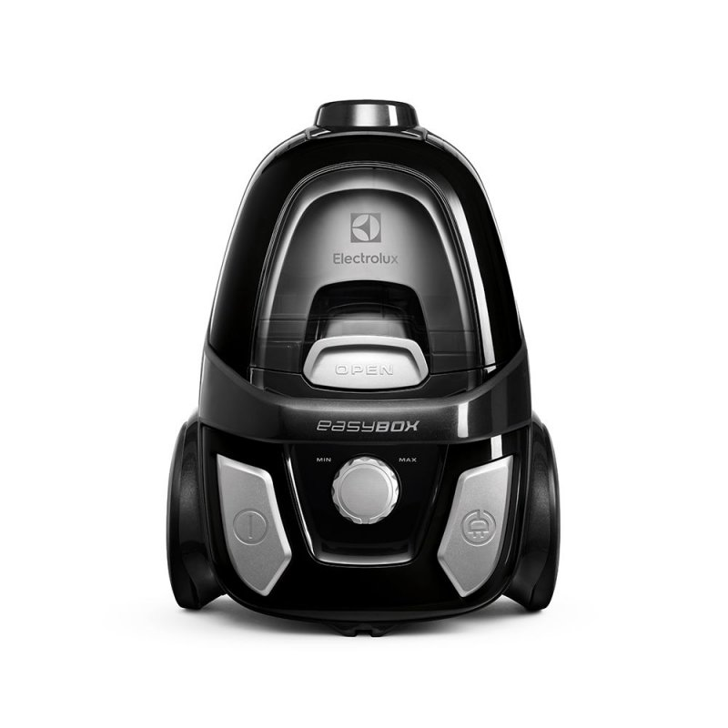 Aspirador de Pó Electrolux Easybox EASY1 220V 1600W Preto e Cinza - Sem Saco