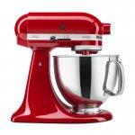 Batedeira KitchenAid Stand Mixer Artisan 127v Vermelha 275W com 10 Velocidades