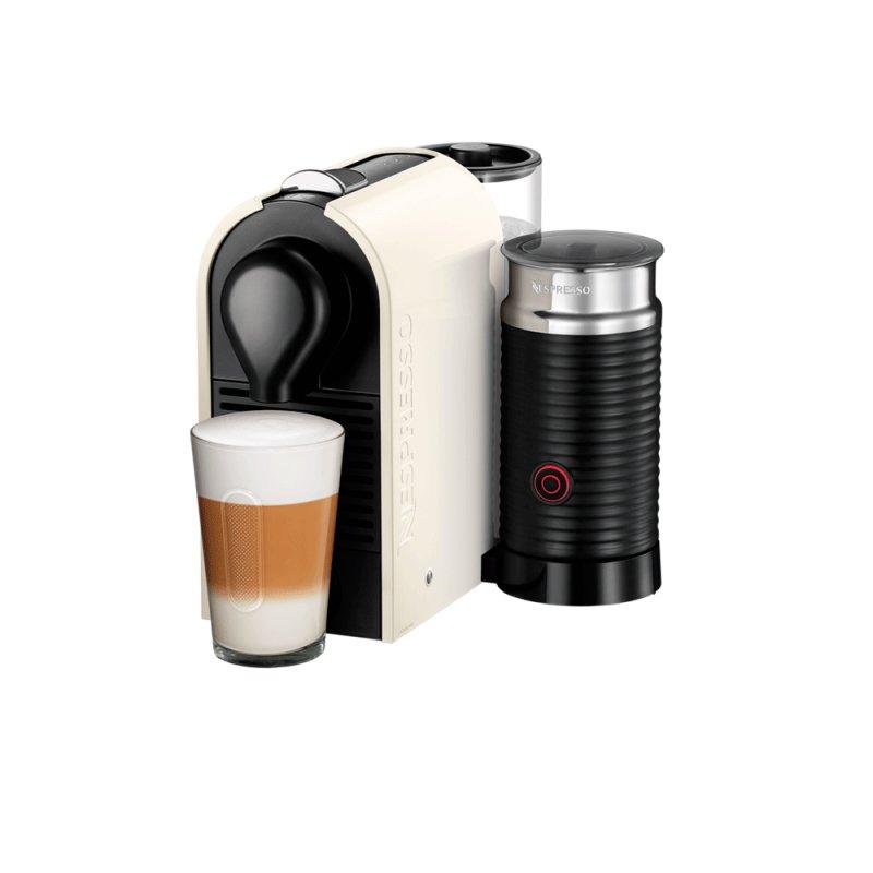 Máquina de Café Nespresso UMilk 110v Creme Puro com Aeroccino Integrado