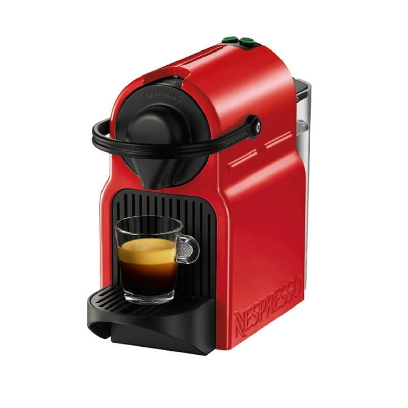Máquina de Café Nespresso Inissia Vermelha 220v com Desligamento Automático