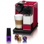 Máquina de Café Nespresso Lattissima Touch Vermelha 220V com Controle Automático de Café