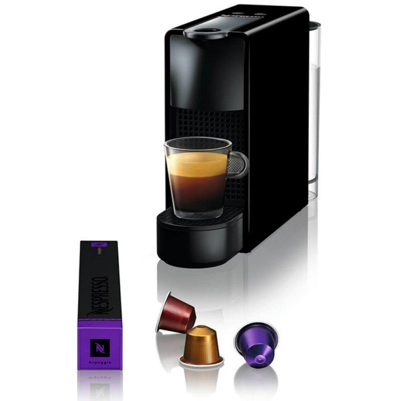 Máquina de Café Nespresso Essenza Mini C30 220V Preta