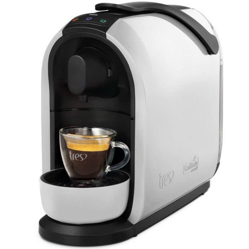Máquina de Café Espresso e Multibebidas Três Corações Mimo 127V Branca