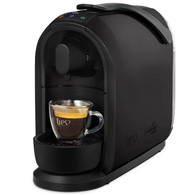 Máquina de Café Espresso e Multibebidas Três Corações S24 Mimo 127V Preta
