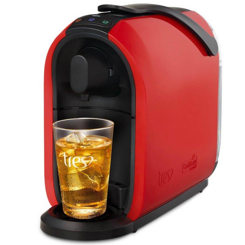 Máquina de Café Espresso e Multibebidas Três Corações S24 Mimo 127V Vermelha