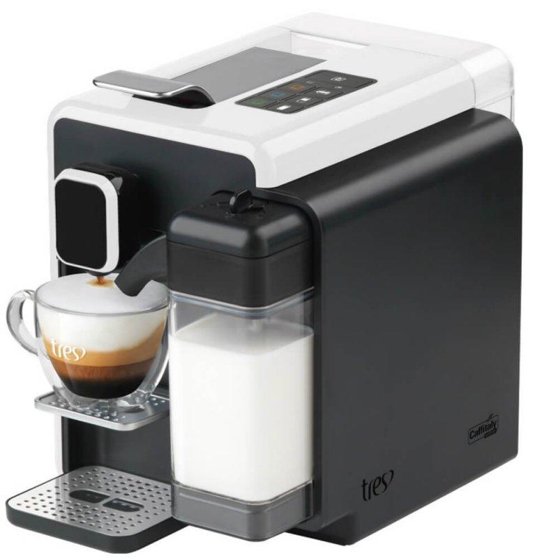 Máquina de Café Expresso e Bebidas Quentes Tres Corações Barista 127V Branca