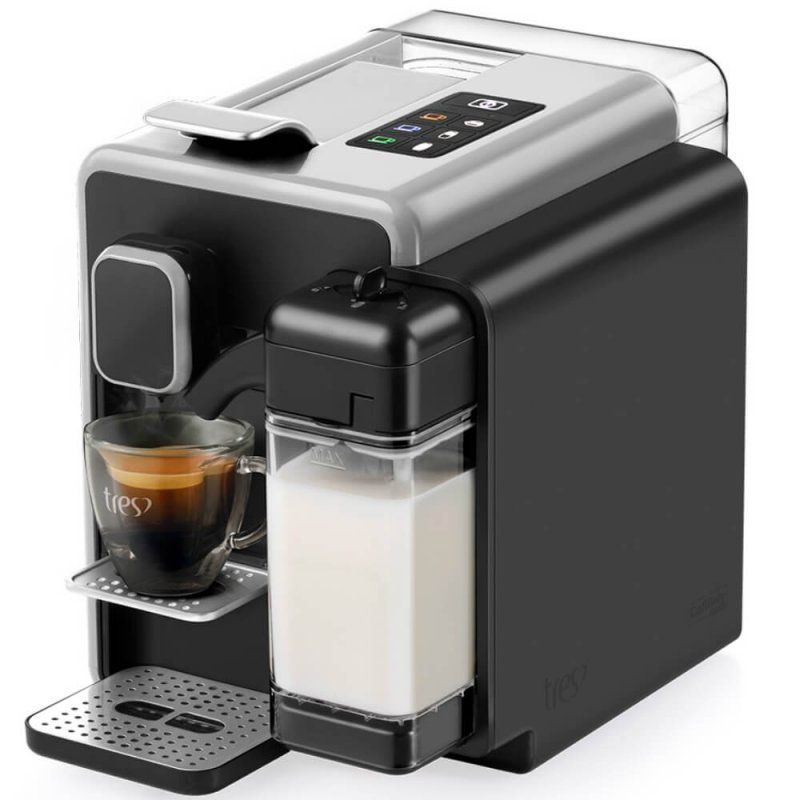 Cafeteira Espresso TRES, BARISTA, Prata, 220V, 3 Corações
