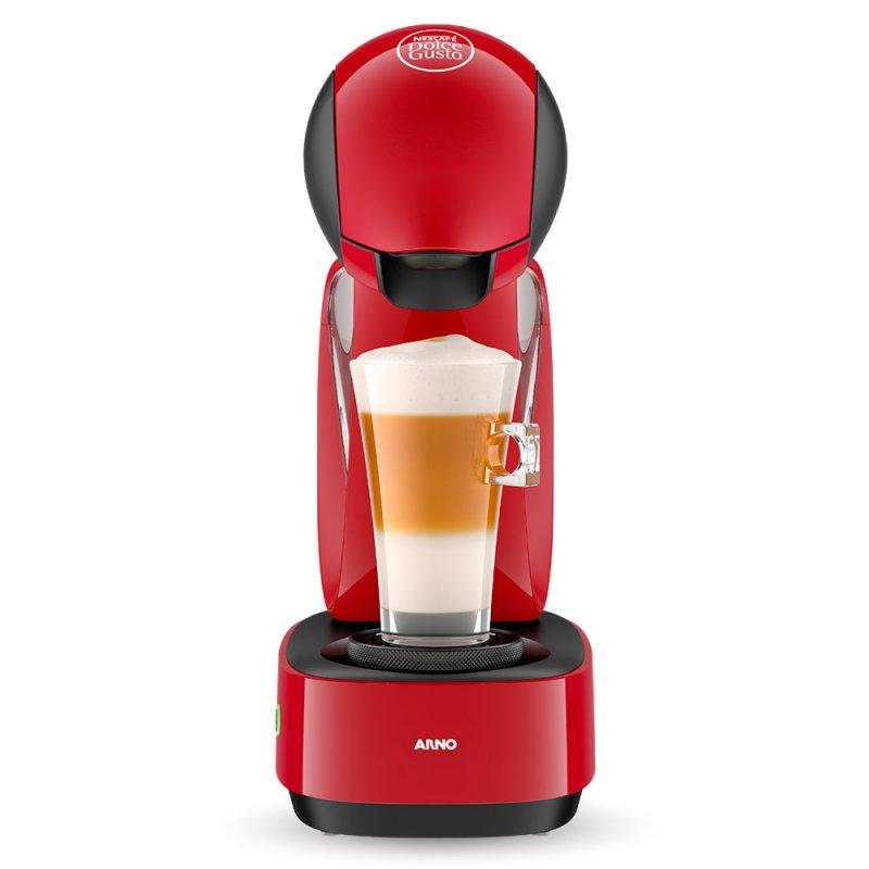 da6c758bb Máquina de Café Expresso e Multibebidas Arno Nescafé Dolce Gusto  Infinissima DG16 Vermelha 220V